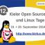 Kieler Linux-Tage – 12. Kieler Open Source und Linux Tage